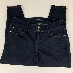 torrid Jeans - Torrid Hi-Rise Stiletto Zip Jeggings